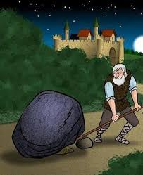 Image result for داستان پیرمرد وبرداشتن  سنگ از جاده