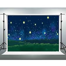 GESEN 7x5ft Cartoon Backdrops Fantastic Starry Sky ... - Amazon.com