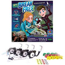 Купить <b>настольную игру</b> Игра Yulu <b>Break</b> Free Освобождение ...