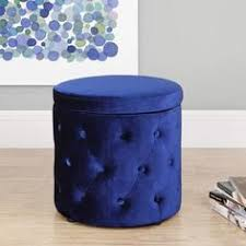 9 by novogratz round storage ottoman with buttons multiple colors walmartcom altra furniture owen student writing desk multiple