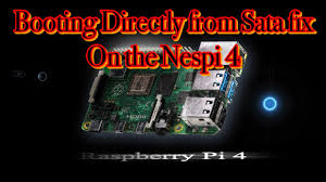 How To Boot From Sata Drive <b>RetroFlag Nespi 4</b> Raspberry Pi 4 ...