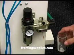FS 1000 Underpinner - <b>Adjusting Pressure Regulator</b> - YouTube