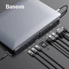 <b>Baseus</b> Upgrade <b>11in1</b> Multi USB C <b>HUB</b> for Macbook Pro for Sur ...