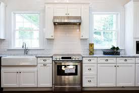 kitchen remodel gray subway tile aqua