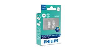 <b>Лампа</b> светодиодная <b>Philips Ultinon LED</b> T10, 12V, 5W, 6000К ...