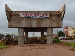 Resultado de imagem para obras inacabadas em porto velho