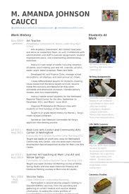 art teacher resume samples   visualcv resume samples databaseart teacher resume samples