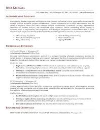 best administrative assistant resume example livecareer letter examples of resumes for administrative positions