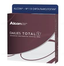 <b>Alcon Dailies</b> Total 1 однодневные <b>контактные линзы</b> D 14.1/R ...
