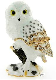 <b>Trinket</b> Boxes- Snowy Owl | <b>Trinket</b> boxes, Music box jewelry, <b>Trinket</b>