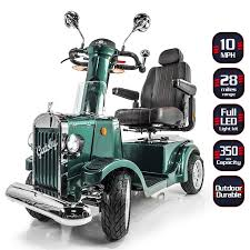 Gatsby X Vintage Heavy Duty Mobility Scooter | Mobility scooter ...