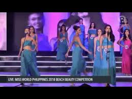 WATCH: Miss World Philippines 2018 Swimsuit Competition ...