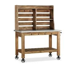 zinc top bar table