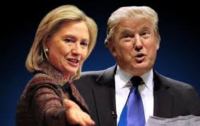 Картинки по запросу клинтон и трамп картинки