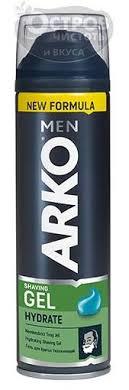 Купить <b>Гель для бритья</b> ARKO <b>HYDRATE</b> (увлажняющий), 200 мл