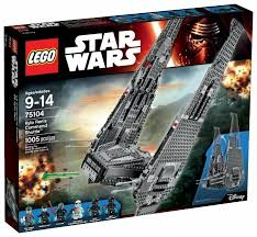 Конструктор <b>LEGO Star Wars</b> 75104 Командный <b>шаттл</b> Кайло Рена