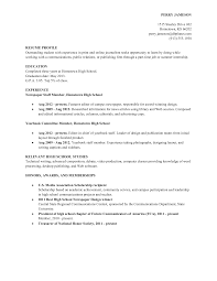 sample high school academic resume template resume sample resume template sample for high school academic experience and relevant high school studies