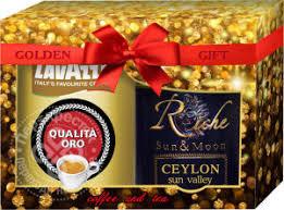 Купить Подарочный набор Golden Gift кофе молотый Lavazza ...