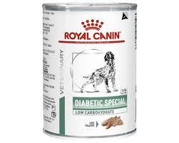 <b>royal canin</b> veterinary diet <b>diabetic special</b> dog food 12x410g
