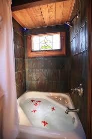 image bathtub decor: tiny texas homes canyon lake tub amp shower what a great way