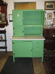 painted kitchen cabinets vintage cream: exciting green kitchen cabinets with open shelves storage and white top table plus drawers as kitchen
