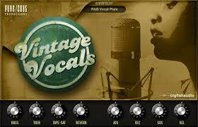 Vintage Vocals - Emulate the sounds of female ... - Big Fish Audio