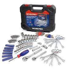 Online Shop WORKPRO 145PC Tools Set for <b>Car Repair</b> Ratchet ...