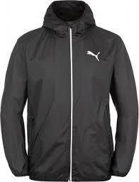 Ветровка мужская <b>Puma Essentials Solid</b> Windbreaker черный ...