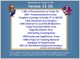 powerpoint maths or math whiteboard maths teachers can the version 13 cd gives you a massive