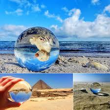 Rocks, Fossils & Minerals 60mm Clear <b>Quartz Crystal Ball Healing</b> ...