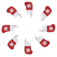 8Pcs <b>Christmas Decorations</b> Christmas Mini Socks Christmas ...