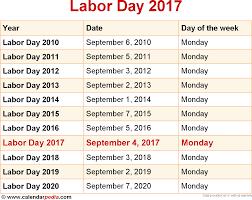 labor day calendar calendar labor day 2017 calendar