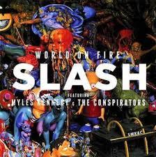 <b>Slash</b> '<b>World On</b> Fire' eonmusic Album Review.