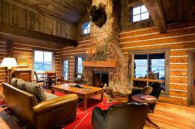 amusing rustic wooden cabin with classic home accessories rustic stone fireplace in the living room amusing rustic small home