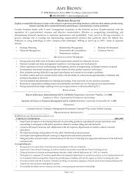 analyst resume examples to download with business analyst resume objective