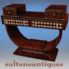 designers delight art deco style rosewood console for sale antiquescom classifieds art deco style rosewood