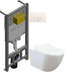 Комплект подвесной <b>унитаз Creavit Free FE322-11CB00E-0000</b> + ...