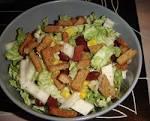 Салат рецепт с сухариками и фасолью
