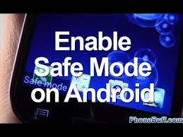 How To Enable Safe Mode On Android - YouTube