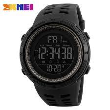 Shop <b>Skmei Mens</b> Sports Watch Dive 50m Digital <b>LED</b> Watch ...