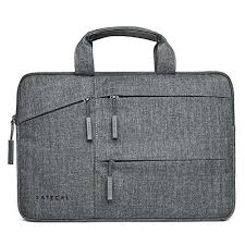 Buy <b>Satechi Water-Resistant Laptop</b> Bag Carrying Case w/ Pockets ...