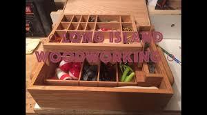 1pcs wood float box fishing