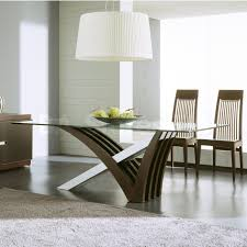 Glass Top Pedestal Dining Room Tables Concrete Wood Steel Dining Kitchen Table Concrete Wood Amp Steel
