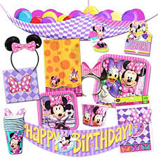 Disney Minnie Mouse Party Supplies Ultimate Set ... - Amazon.com