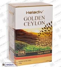 "<b>Чай Heladiv</b> ""GOLDEN CEYLON Super Pekoe"" <b>чёрный</b> ..."