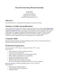 resume example 48 secretarial resume examples general office resume example executive secretary resume examples secretarial resume templates 48 secretarial resume examples