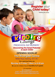 who is at the centre rivergate centre kiddies lounge flyer a3