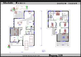 TWO STOREY FLOOR PLANS Â  Home Plans  amp  Home DesignTwo storey floor plans   Sanctum Living