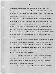 fdr    s first inaugural address declaring     war     on the great depressionthe documents
