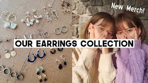 Our Favorite <b>Korean Earrings</b> Collection <b>2019</b> + Our Jewelry Merch ...